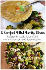 marie calendars thanksgiving roasted brussels sprouts and marie callender u0027s pot pies