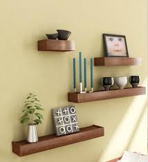 cool unfinished wood wall shelves gallery wall decor world