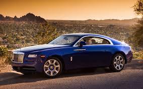 rolls royce wraith blue rolls royce wraith rolls royce race front desert background hd