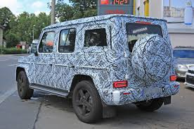 mercedes jeep gold 2018 mercedes benz g class all new interior design leaked online