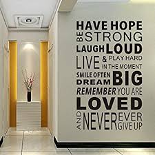 Mirror Decals For Bathrooms - amazon com inspirational attitude vinyl wall decal quotes wall