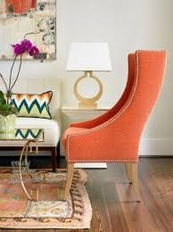 orange accent chairs foter