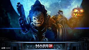 goku halloween background mass effect 3 backgrounds group 82
