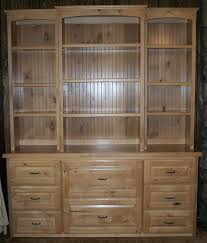 Natural Wood Bookcases Custom Handcrafted Solid Wood Bookcases Healthycabinetmakers Com
