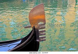 gondola venice bow stock photos gondola venice bow stock images