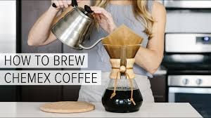 How To Grind Coffee Without A Coffee Grinder How To Brew Chemex Coffee A Simple Chemex Brewing Guide Youtube