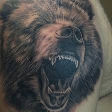 75 best bear tattoos images on pinterest animal tattoos heart