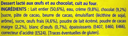 8 Pots by Le Petit Pot De Crème Au Chocolat 8 Pots La Laitière 800 G