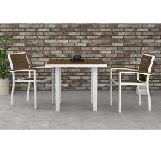 Polywood Euro Bistro Set Furniture For Patio