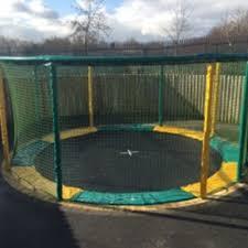 10ft gallus in ground trampoline sunken trampolines