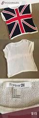 Plain Flags For Sale Forever 21 Sweater Short Sleeved Light Weight Sweater With British