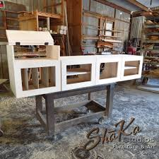 shaka studios custom furniture custom media console cabinet