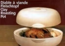 cuisine sans graisse diable à viande en terre cuite cuisine sans graisse ebay