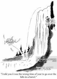 niagara falls cartoons comics funny pictures cartoonstock
