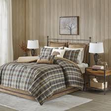 Eddie Bauer Rugged Plaid Comforter Set Woolrich Hadley Comforter Set U0026 Reviews Wayfair