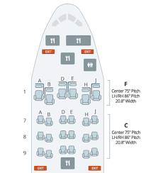 boeing 787 9 seat map air s 787 business class cabins one