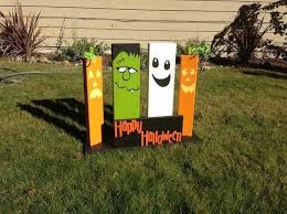 Homemade Animated Christmas Yard Decorations by Best 25 Diy Halloween Yard Signs Ideas On Pinterest