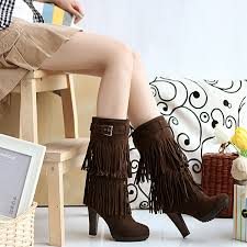 s boots with heels aliexpress com buy free shipping indian faux suede