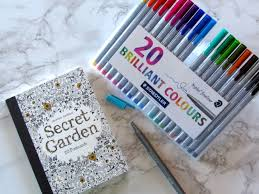 secret garden colouring book postcards colouring in poppy tails and trails
