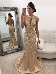 real photos 2017 long crystal beaded prom dress with slit