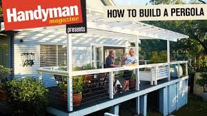 How To Build A Wooden Pergola by How To Build A Timber Pergola Youtube