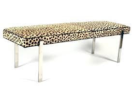 Animal Print Ottomans Animal Print Bench Leopard Print Bench Prince Furniture Leopard