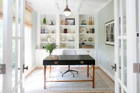 Wall Cabinets For Home Office Home Office With Wall Of Built In Bookcase Transitional Den