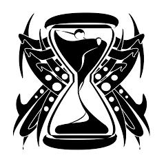 sand clock tattoo designs 12 cool hourglass tattoo design ideas