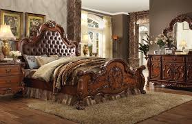 dresden oak 5pc bedroom set w cal king bed