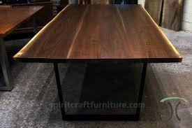 Office Furniture Chicago Suburbs by Live Edge Slab Dining Tables Walnut Slabs And Tops