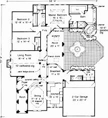 center courtyard house plans one story hacienda house plans fresh center courtyard house plans