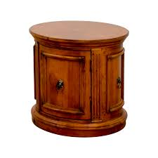 Ethan Allen Tables 44 Off Ethan Allen Ethan Allen Barrel End Table Tables