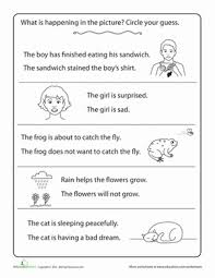 making inferences worksheet education com