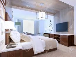 chambre d hotel moderne inspiration chambre d hôtel moderne 3d render banque d images et