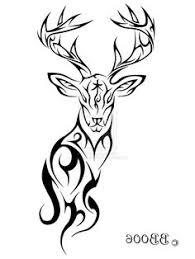 deer skull pics tribal style japanese idea