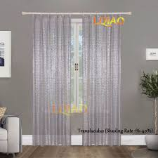 Curtains Decoration 2pcs Silver Gold Sequin Curtains 2ftx7ft Sequin Backdrop For