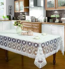 awesome shabby chic tablecloth white background european style