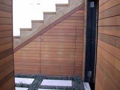 idea for storage underneath stairs outside for the home