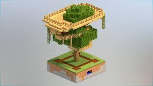 5 Tree House Designs Minecraft Youtube