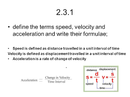 Distance travelled definition