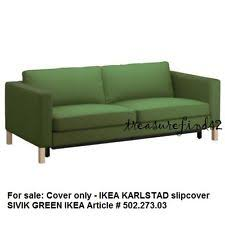 Karlstad Sofa Bed Ikea Ikea Karlstad Replacement 3 Seat Sofa Bed Slip Cover Sivik Dark
