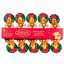 Rudolph The Red Nosed Reindeer Christmas Decorations For Outdoors by Amazon Com Set Of 10 Rudolph The Red Nose Reindeer Novelty