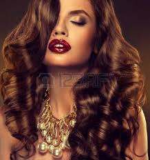 large hair cabello ondulado imágenes de archivo vectores cabello ondulado