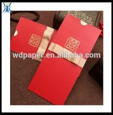 Pocket Envelopes Customized Chinese New Year Red Pocket Envelope Buy Custom Made
