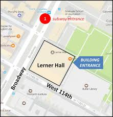 Subway Map Directions by Directions To Lerner Hall Sabin Center For Climate Change Law