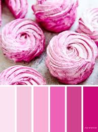pink color schemes shades of pink color scheme fabmood wedding colors wedding