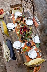 thanksgiving table setting on in the find