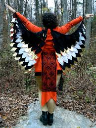 how to make wings for halloween nattyjane u0027s birds of a feather costume tutorial 17 steps with