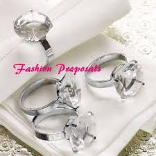 gem diamond rings images Napkin holders 48 crystal diamond gem silver napkin ring bling jpg