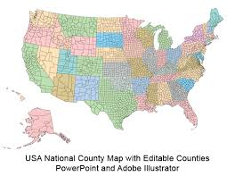 map of us and canada blank usa county world globe editable powerpoint maps for sales and